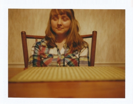 Polaroid 450 and Fuji FP-100c
